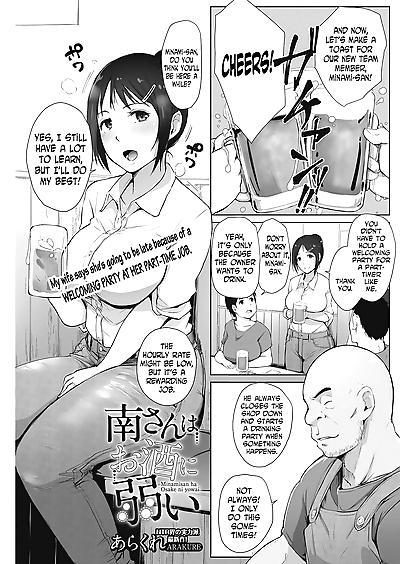 Minami-san wa Osake ni Yowai