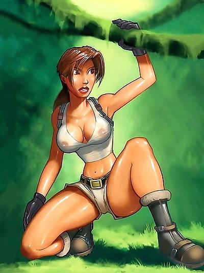 Lara croft porn cartoons -..