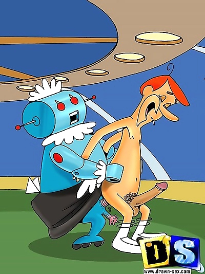 The jetsons get busted in a..