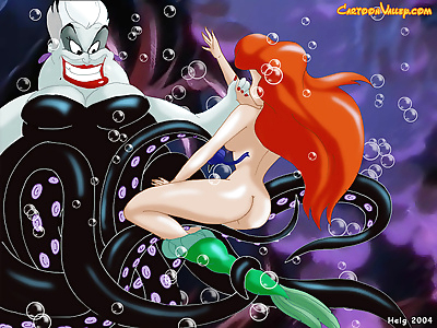 Young and beautiful ariel..