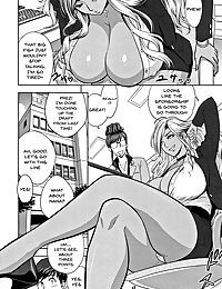 Gal Ane Shachou to Harem Office ~SEX wa Gyoumu ni Fukumimasu ka?~ Ch. 1-3