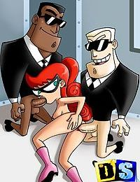 The jetsons get busted in a dirty bisexual orgy - part 3804
