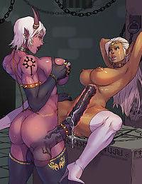 Rare dickgirl manga comicks - part 3524