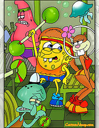 Sponge bob and his friends decide to gangbang sandy - part 2795