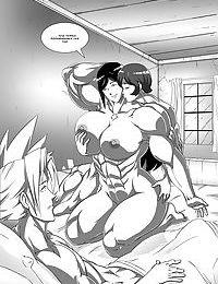 Tifa & Cloud 4 - Sorceress Supreme