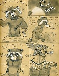 Rocket Racoon X Beta Ray Bill