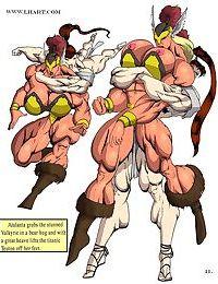 Valkyries vs Amazons