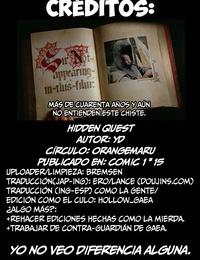 COMIC1☆15 OrangeMaru YD Hidden Quest - Aventura Oculta Fate/Grand Order Spanish HGnF