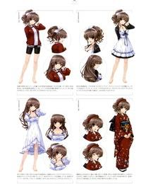 Misaki Kurehito- Kuroya Shinobu Ushinawareta Mirai o Motomete Visual Fanbook - part 4